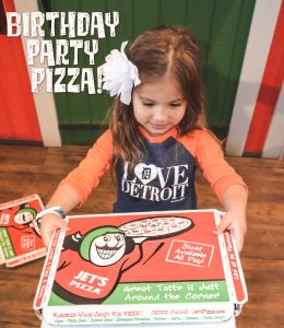 Birthday Party Pizza