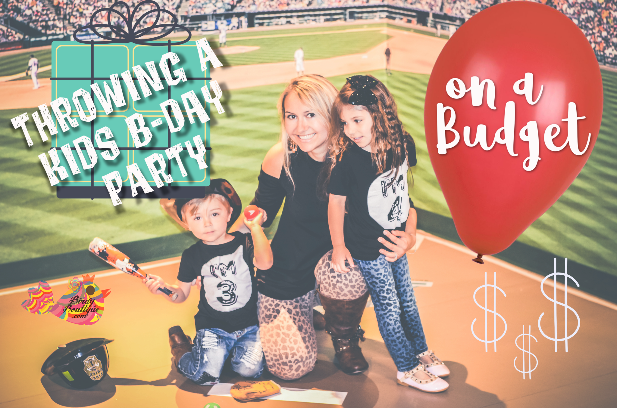 Kids Birthday Party on a Budget