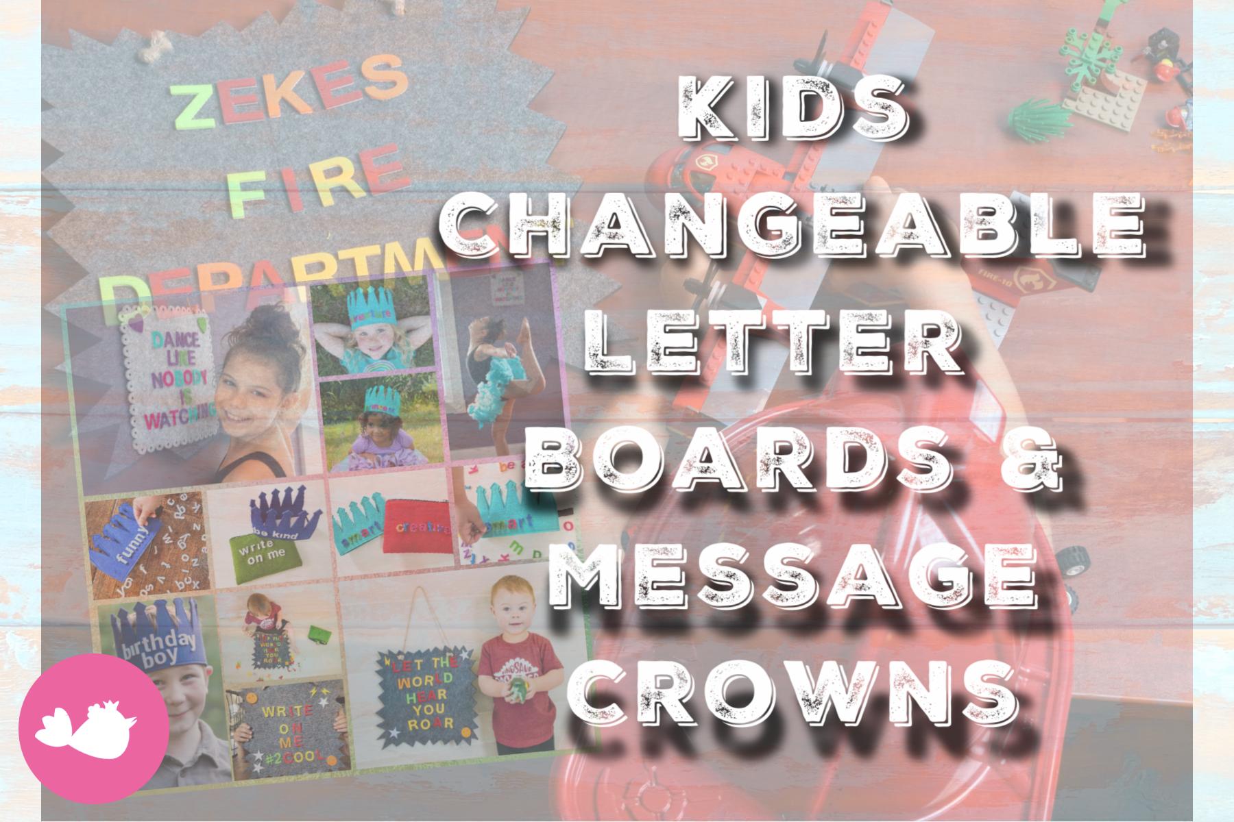 Kids Letterboards Set