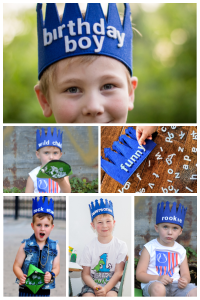 Letter Changeable Messages Crown for Kids