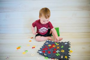 Write Message Kids Toddler Felt Board