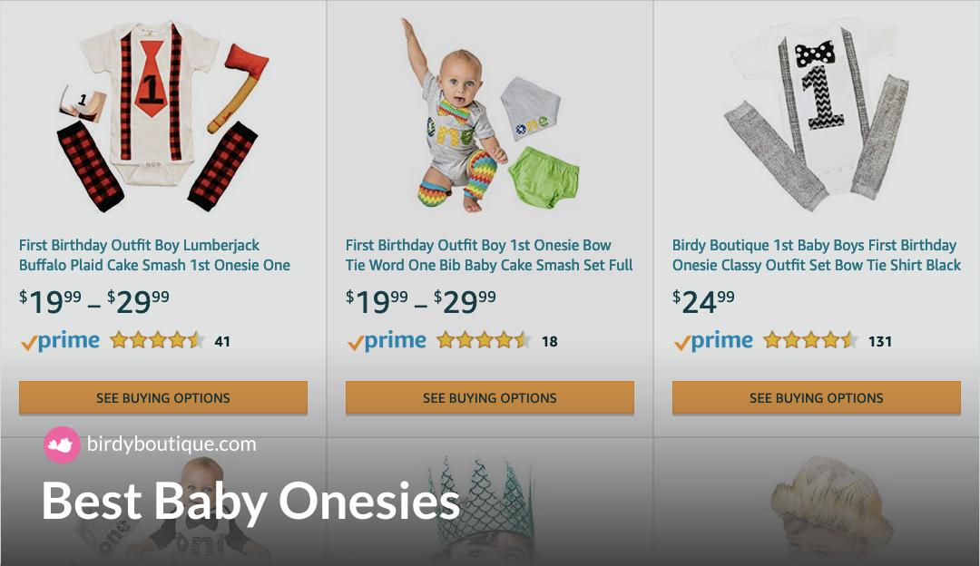 best baby onesies
