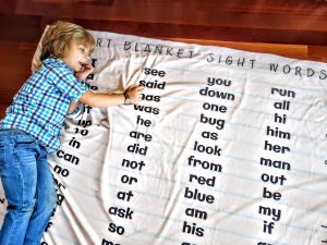 Dolch Fry Sight Word Reading Blanket Activity