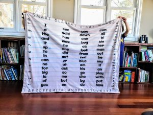 Sight Word List Prek Kindergarten Kids Blanket