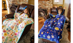 Weighted Weight Kids Toddler Blankets 5 lbs pounds heavy