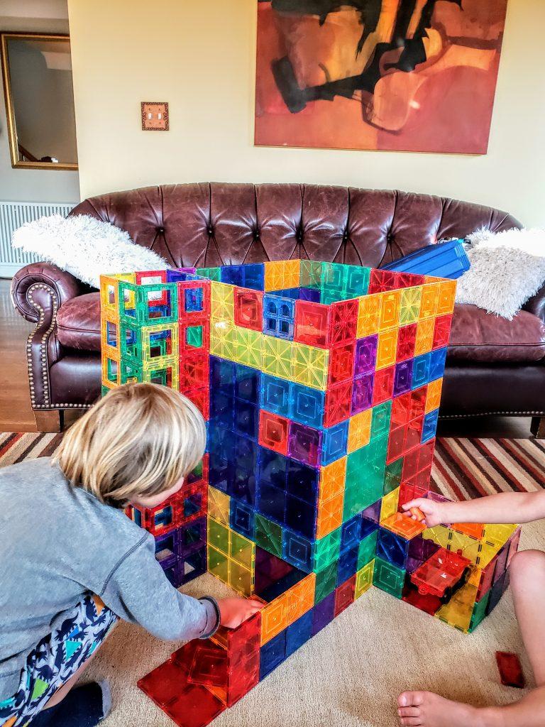 Magna Magnetic tiles blocks for kids ideas