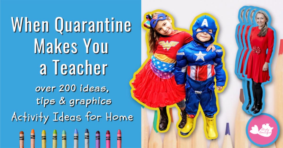 Quarantine Home School Activity Education Ideas (1)