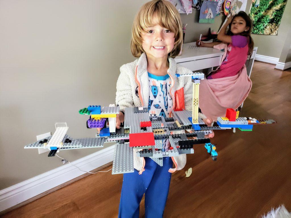 lego challenge kids ideas build